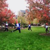 First year DPT students placed 3rd in the costume competition at Regis this year. Go gnomes.