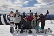 Snowy study breaks up at Keystone