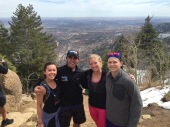 First years celebrate spring and take on the Incline