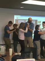 Second years learn tango dancing in Neuro management II (intervention for Parkinson's patients)
