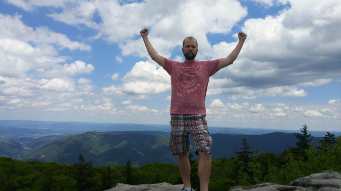 The king of the world in the Appalachian Mountains.jpg