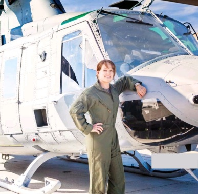 Tara was a helicopter pilot in the Marine Corps