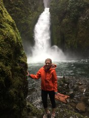 While living at home during my year off, I took full advantage of the nearby Columbia River Gorge