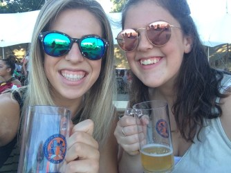 Wine tasting in the Willamette Valley and beer tasting at the Oregon Brewers Festival