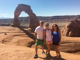 My parents road tripped with me out to Denver! Along the way we stopped in Salt Lake City and spent a day exploring both Arches and Canyonlands National Parks